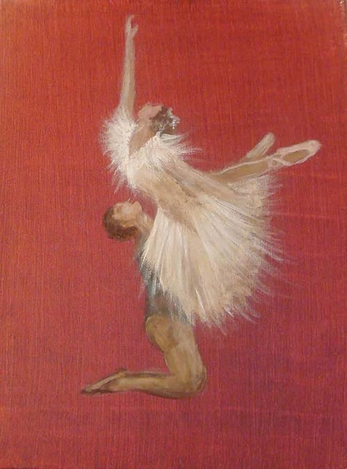 1 SULTANA KAZIM _dancers-painting painting