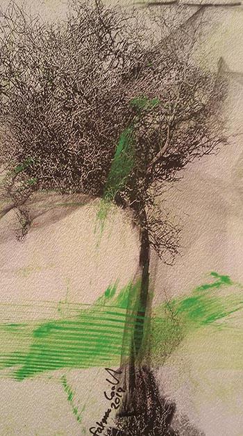 2 FATMA ABDULLAH LOOTAH _tree _ _painting