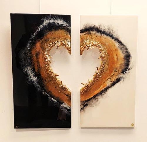 8 SADDAF NAVEED _big heart_painting