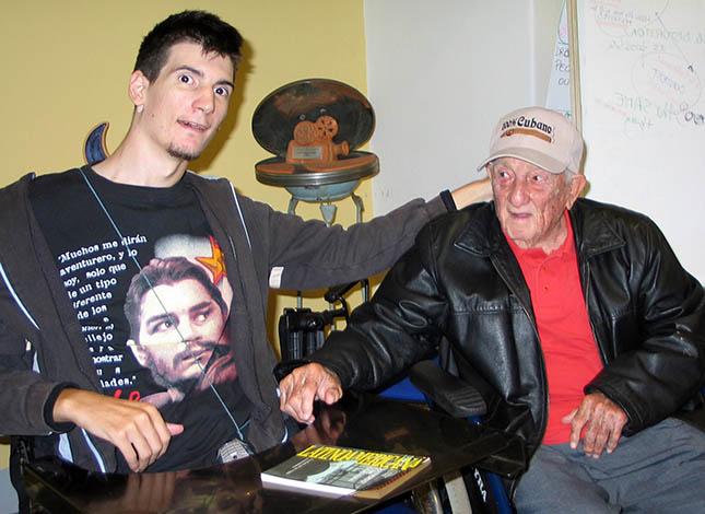 Guido Nasi con Alberto Granado nel settembre 2008 a Torino