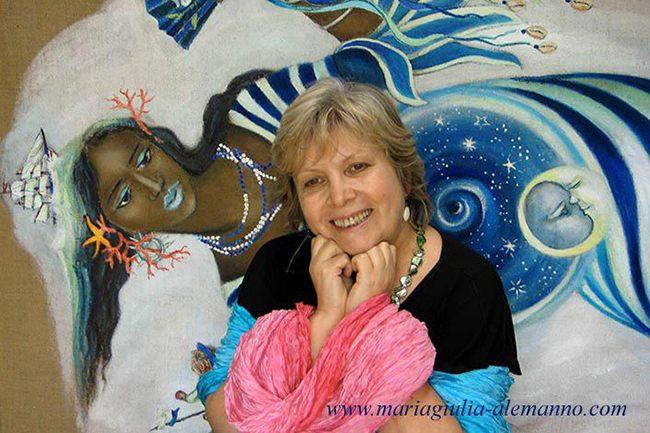 MARIA GIULIA ALEMANNO con YEMAYA sito