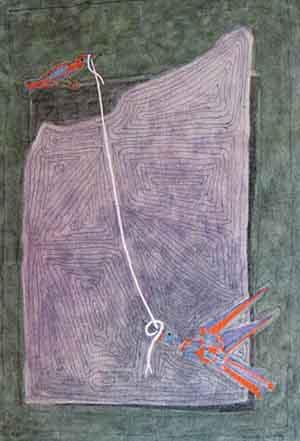 Francesco Casorati: Dialogo acquerello 2006